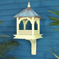 Large Bempton Bird Table with Copper Roof