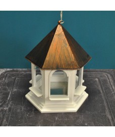 Rozel Hanging Bird Table with Metal Roof - Damaged Box Stock