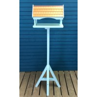 Duck Egg Blue Wooden Bird Table