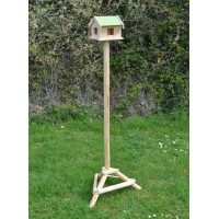 Factory Second - Wooden Bird Table Pigeon Proof with Ground Spikes