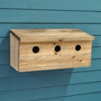 Sparrow Colony Wooden Nesting Box