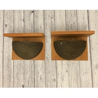 House Martin Bird Nest Boxes (Set of 2)