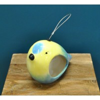 Ceramic Blue Tit Bird Feeder by Wildlife World