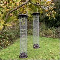 2 x Large Hanging Peanut Bird Feeders For Selections Bird Feeding Stations