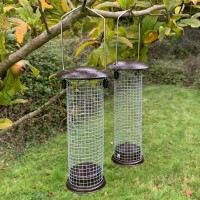 2 x Hanging Nut Bird Feeders For Selections Bird Feeding Stations
