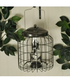 Heavy Duty Hanging Squirrel Proof Seed Bird Feeder by Gardman