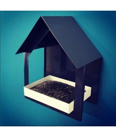 Metal Wall Bird Feeder