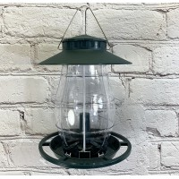 Large Lantern Shaped Hanging Bird Seed Feeder
