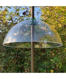 Squirrel Proof Baffle Protection for Wild Bird Feeders