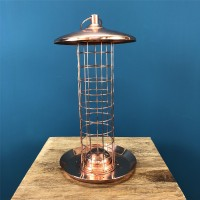 Copper Suet Ball Hanging Bird Feeder by Fallen Fruits