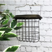 Hanging Suet Bird Feeder For Selections Metal Bird Feeding Stations