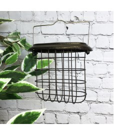Hanging Suet Block Bird Feeder For Selections Metal Bird Feeding Stations