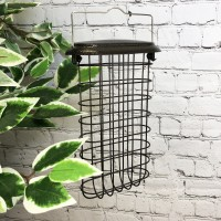 Large Hanging Suet Block Bird Feeder For Selections Metal Bird Feeding Stations