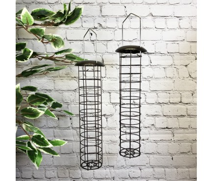 Large Hanging Fatball Bird Feeders For Selections Feeding Stations (Set of 2)