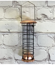 Copper Style Hanging Bird Suet Fat Ball Feeder