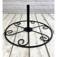 Bird Feeding Station Metal Patio Stand Weighs 3.5kg