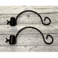 Hanging Bracket Hook for Selections Premium Bird Feeding Stations (Set of 2)