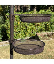 Mesh Seed / Mealworm Tray for Metal Bird Feeding Stations (Set of 2)