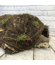 Brushwood Hogitat Hedgehog House Shelter