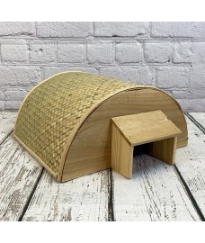 Bamboo Hogitat Hedgehog House Shelter