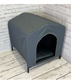 Elevated Portable Dog Kennel (63cm High)