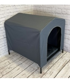 Elevated Portable Dog Kennel (80cm High)