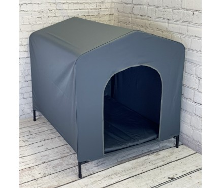 Elevated Portable Dog Kennel (93cm High)