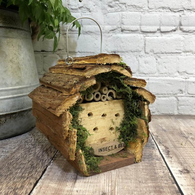 Wooden Hanging Insect, Bug and Bee Hotel