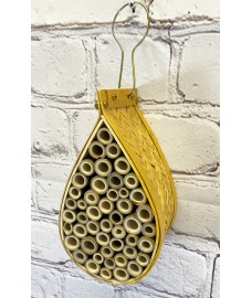 Hanging Teardrop Insect Hotel
