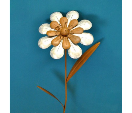 Vintage Daisy Flower Stake Ornament by Smart Garden