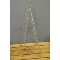 Floor Standing Christmas Tree Card Holder for 100 Cards