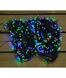 960 LED Multi-Coloured Supabright String Lights (Mains)