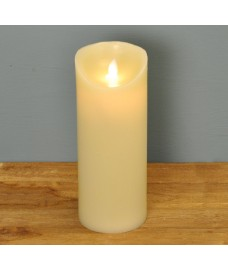 White Dancing Flame Candle (Battery Operated)