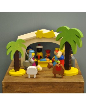 Wooden Nativity Ch..