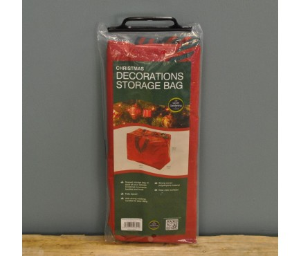 Christmas Decorations Storage Bag by Garland