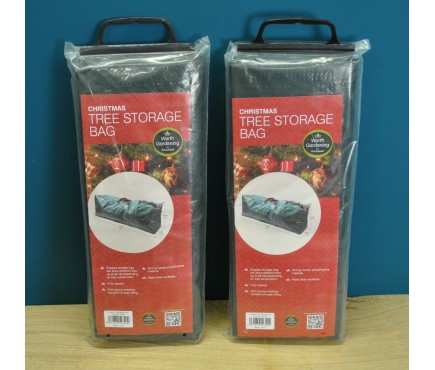 Christmas Tree Storage Bags in Green (Set of Two)