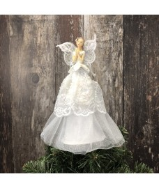 Angelic Fairy Christmas Tree Topper