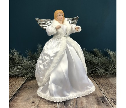 Snow Queen Fairy Christmas Tree Topper