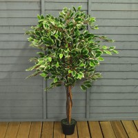 Factory Second - Artificial Topiary Ficus Fig Tree (120cm)