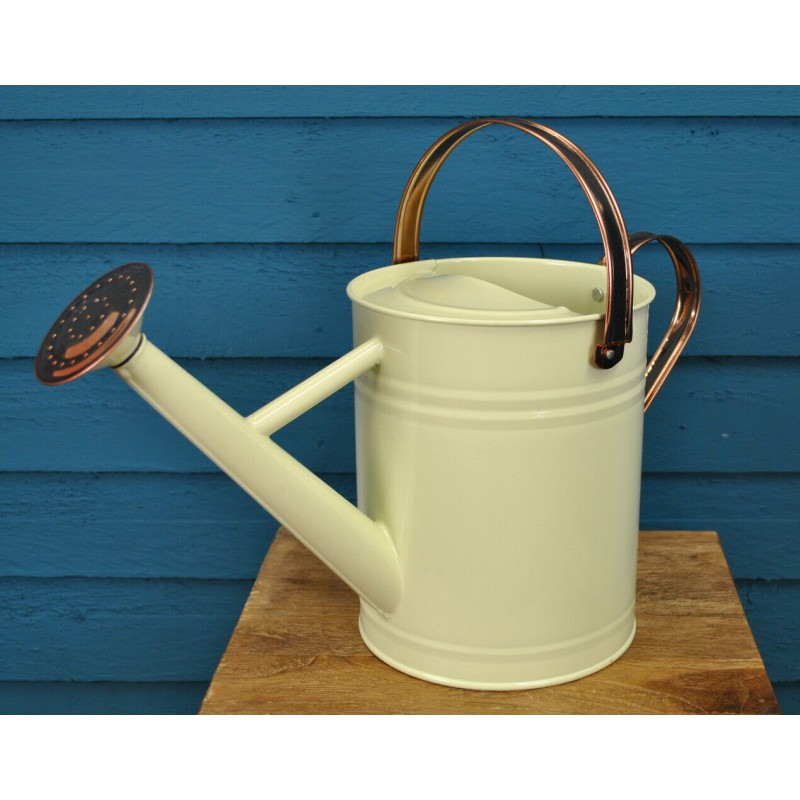 Factory Second - Heritage Cream Metal Watering Can (3.5 Litre)