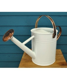 Factory Second - Ivory & Copper Metal Watering Can (3.5 Litre)