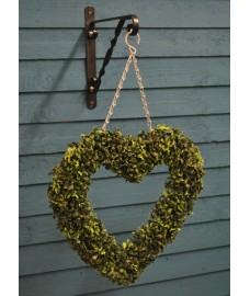 Boxwood Heart Artificial Hanging Buxus Topiary Heart By Smart Garden