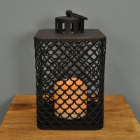 Cairene Battery Operated Candle Lantern