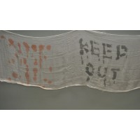 Halloween Keep Out Hanging Decoration by Premier