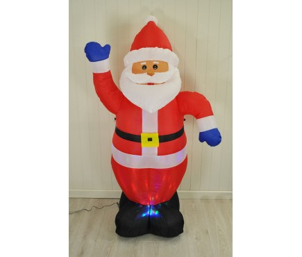 Inflatable Waving Santa Claus by Westwoods