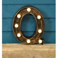 Letter Q - Battery Operated Lumieres Light by Smart Garden
