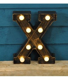 Letter X - Battery Operated Lumieres Light by Smart Garden