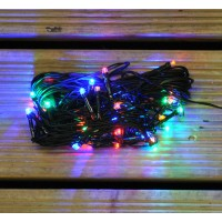 40 LED Multi Colour Supabright Christmas String Lights (Mains)