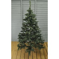6ft (180cm) Green Alberta Artificial Christmas Tree by Gardman