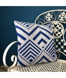 Scatter Cushion in Blue Arrow Design by Premier